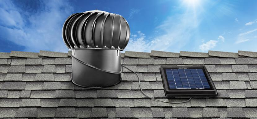 Solar Star IM 1200 Solar Powered Attic Fan & Products - Solar Star Attic Fans | Nelson-Dye Remodeling